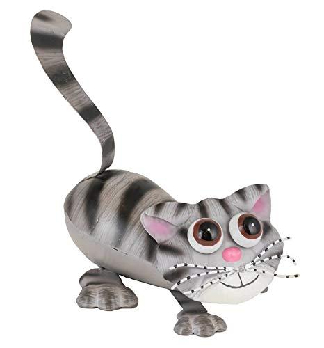 Fountasia Funky Pet Candice The Cat Gartenfigur aus Metall