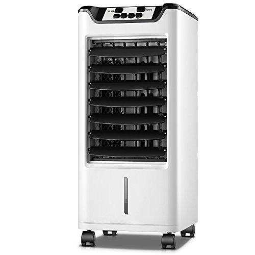 Portable Simple Froid Climatiseur Mobile, Ventilateur climatiseur Refroidisseur D'air avec Déshumidificateur Petit climatiseur Accueil Dorm-Blanc