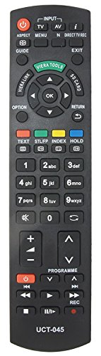 Viera Plasma-tv (Fernbedienung Für panasonic VIERA TV LCD Plasma LED-N2QAYB000752-Ersatz)