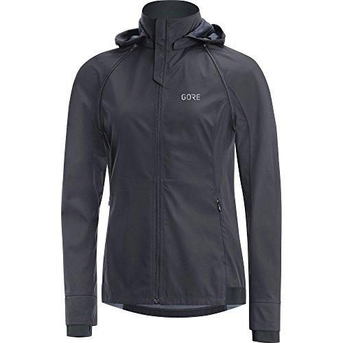 Gore Running Wear 2 in 1 Damen Laufjacke, Abnehmbare Ärmel und Kapuze, Gore Windstopper, Essential Lady GWS Zip-Off Jacket, JWCOLZ
