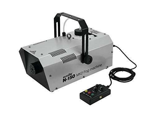 (Eurolite N-150 MK2 Nebelmaschine | DMX-steuerbare Nebelmaschine mit 1500-Watt-Leistung | Kompakte Nebelmaschine mit hohem Ausstoßvolumen)