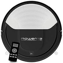 Rowenta RR6927WH Smart Force - Robot aspirador, con sensores anticaída y bateria de ión-
