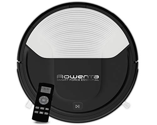 Rowenta RR6927 Smart Force Essential Saugroboter (Laufzeit bis zu 150 Minuten, 0,25 l Staubbehälterkapazität) schwarz/weiß