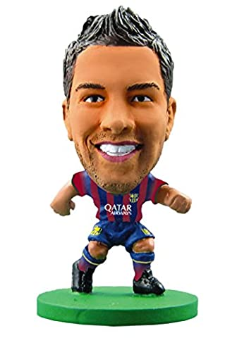 Soccerstarz - 75613 - Figurine Sport - Fc Barcelona Jordi Alba - Maillot Domicile