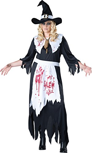 Plus Size Salem Witch Fancy dress costume - Salem Hexe Damen Kostüm