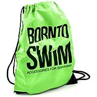 756b42223aa2f BornToSwim Turnbeutel Sporttasche Schwimmbeutel Mit Born to Swim Hai Motive