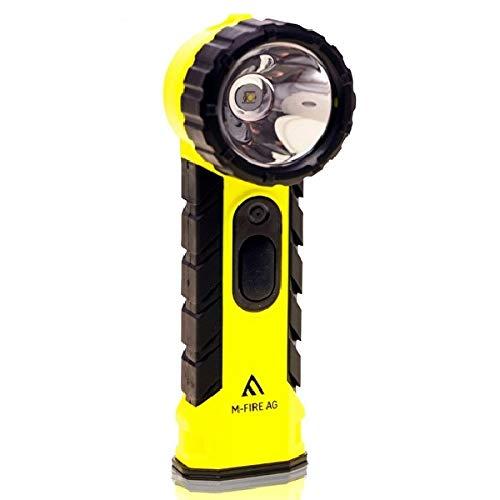 LED-MARTIN® M-FIRE Feuerwehr Handlampe - Winkelkopf - Knickkopf - ATEX