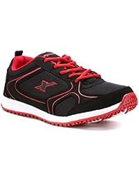 Sparx Women Black & Red Running Shoes (SM-88)