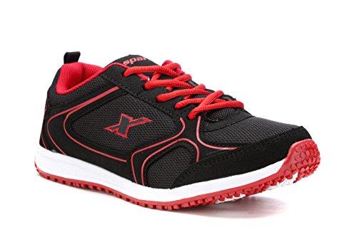 Sparx Women 88 Black Red Sport Shoe-7 UK