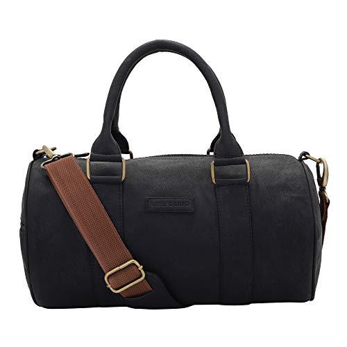 Lapis O Lupo Coal Men Duffle Bag (Black)