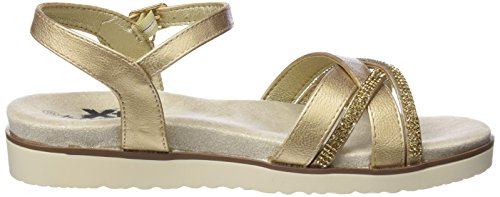 Xti 47664, Sandales Bride Cheville Femme Or (Gold)