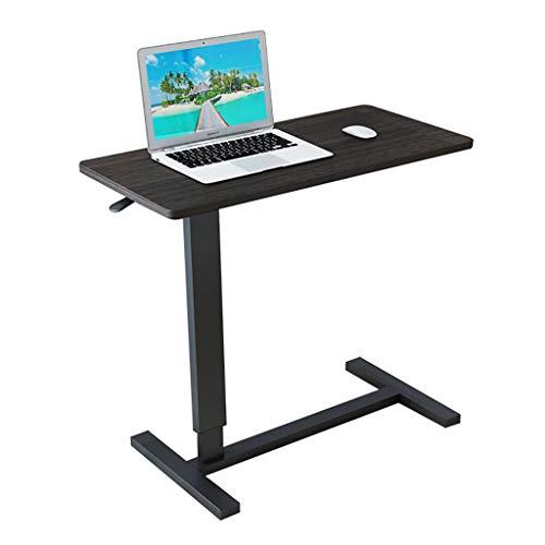ZRRtables Laptop Tisch Bett Schreibtisch Mobil Tisch Sofa Nachttisch Schreiben Mit Rolling Casters Mit Frei Verstellbar FüR Kleinen Raum -