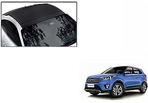 Speedwav Car Roof Wrap Sheet Matt Black-Hyundai Creta