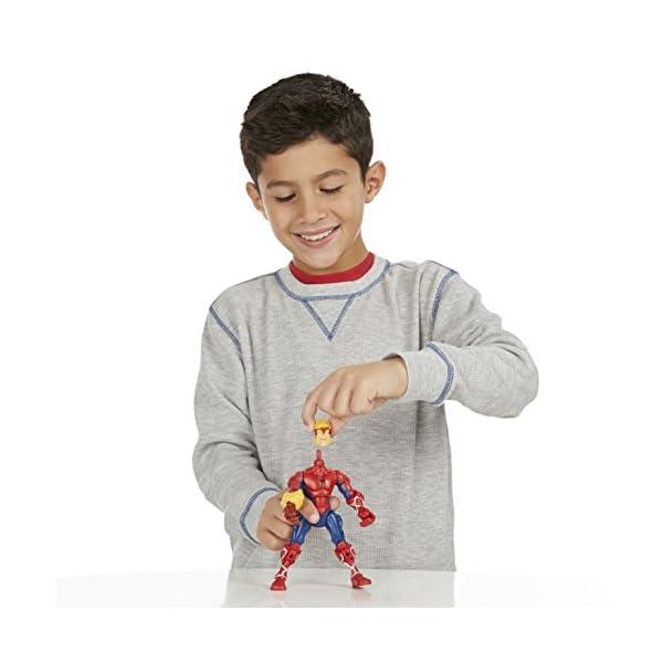 Marvel - Superhéroe mashers - Ataque de Spider-Man - Rayo Miniatura Ensamble Accesorios 6