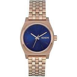 Nixon Reloj Analogico para Unisex de Cuarzo con Correa en Acero Inoxidable A1130-2763-00