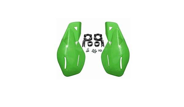 Demino Motocross Brosse Garde Vent pour Kawasaki KX 125 250 KXF KLX 450 poign/ée Garde Main Auto Parts Durable