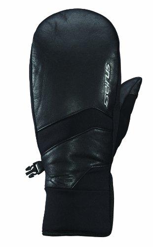 Seirus Isolierte Handschuhe (Seirus Innovation 1440 Xtreme Damen Handschuhe, wetterfest, aus Leder, Damen, 1440, Schwarz, Größe S)