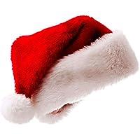 Love May Navidad Gorro Gorro de Papá Noel Navidad Christmas Papá Noel Dick Rojo Gorro Niños Adultos Decoración de Navidad