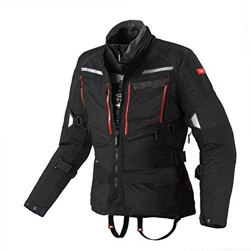 SPIDI Motorradjacke, aus Stoff, für alle Jahreszeiten L schwarz