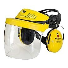 Combinaison multisystème Industrie avec coiffe 3M™ G500 jaune