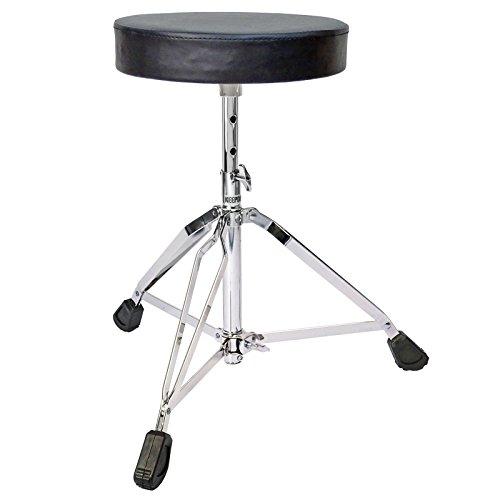 KEEPDRUM KD-SH200 Drumhocker Rundsitz Schlagzeug Hocker
