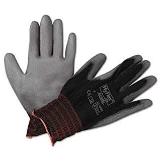AnsellPro HyFlex Lite Gloves, Black/Gray, Size 7 by AnsellPro