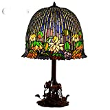 Demarple Handmade Beautiful Tiffany Style Vintage Table Lamp