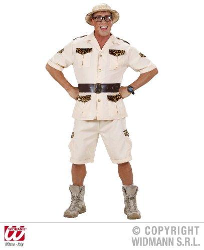 KOSTÜM - SAFARI MANN - Größe 50/52 (Kostüm Mann Safari)