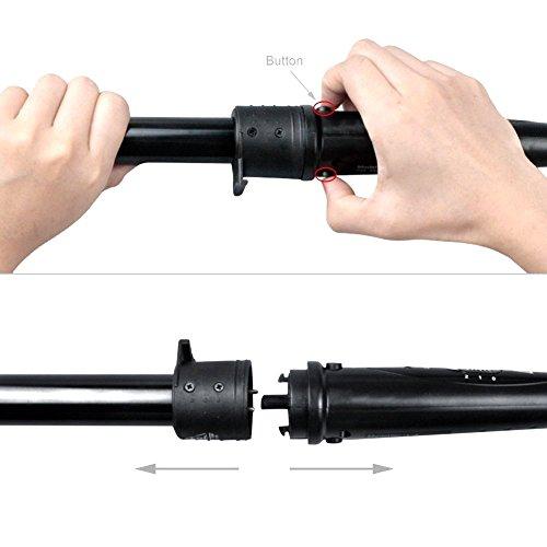 ROMEKER 5 in 1 Lockenstab mit Keramikbeschichtung 10mm-32mm - 4
