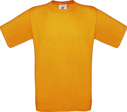 B & C Herren Casual Wear Short Sleeve Crew Neck Baumwolle Tees TOP SHIRT Exact 150 Rosa - Apricot
