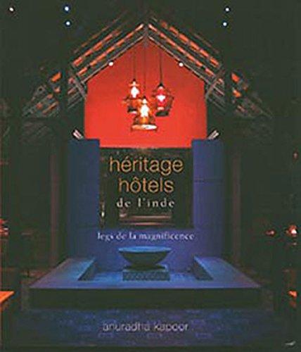 Héritage hôtels de l'Inde par Florent Jouty