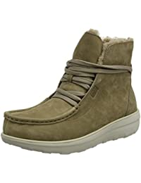 Fitflop Loaff Lace-up Ankle Boot Shearling - Botines Chukka Mujer
