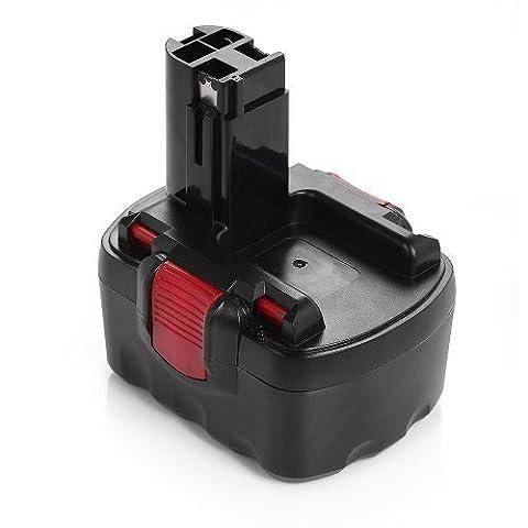 Powerextra 12V 2.0Ah Replacement Power Tools and Cordless Drill Battery for Bosch 22612 3360 3455 32612 3360K 3455-01 BAT043 BAT045 BAT046 BAT049 BAT139 2607335274 2607335709 2609200306 Exact 700 PSB 12VE-2 GBH 12VRE GLI 12V GSB 12VE-2 GSR 12VE-2 PAG 12V PLI 12V PSR 12VE-2