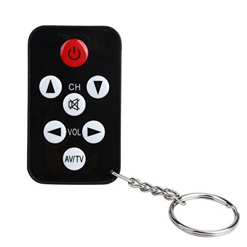 Wokee TV Mini Schlüsselanhänger Universal Fernbedienung für Philips Sony Panasonic Toshiba LO Universal Tv Fernbedienung Toshiba