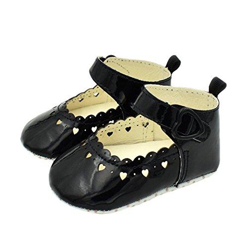 timeracing , Baby Mädchen Lauflernschuhe schwarz schwarz 0-6 Monate schwarz