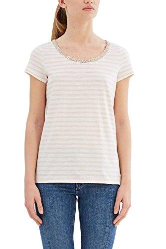 ESPRIT Damen T-Shirt Mehrfarbig (Light Pink 690)