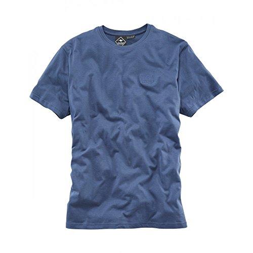 ROADSIGN Australia Herren Basic Rundhals T-Shirt Navy