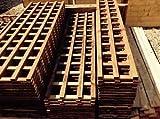 Spalier behandelt in Dunkelbraun Preserver, strapazierfähige hergestellt für in den Garten, holz, braun, 6ftx2ft