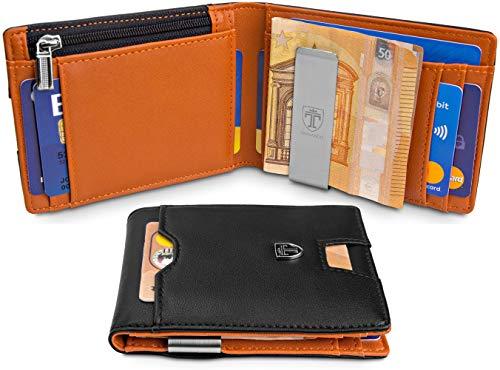 """TRAVANDO ® Geldbörse mit Geldklammer """"LONDON"""""""