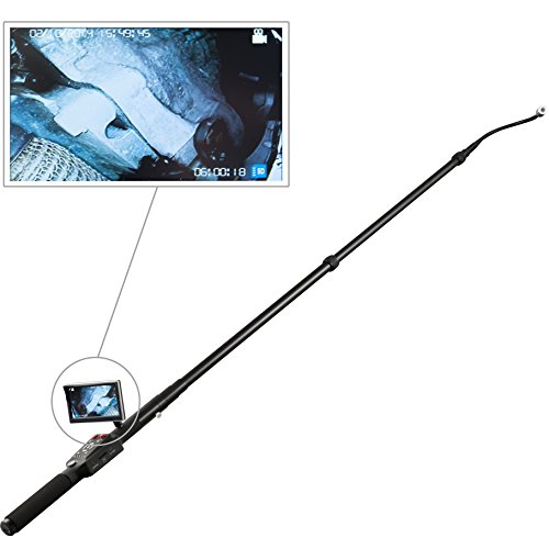 PCE Instruments Monitor-Endoskop PCE-IVE 320 / flexibler Kamerakopf / bis zu drei Meter lang