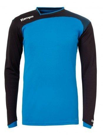 Kempa Emotion Langarmshirt blau kempablau/schwarz, XL