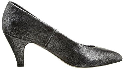Jonak - Scarpe col tacco, Donna Grigio (Grau - Gris (Cuir Metalise Acier))