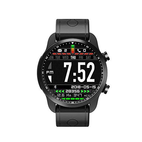 KINGWEAR KC03 Nuevo reloj inteligente 4G All Networks Universal Android 6.0 + 16GB Hombre Fitness Tracker para Deportes y Aire Libre con Contadores de Calorías Cronómetro Notificación Mensajes(Negro)