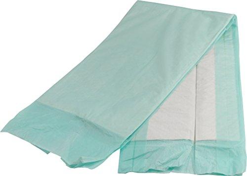 Ribocare 100 Stück Krankenunterlagen Wickelunterlagen Welpenunterlagen in Folie verpackt (40 x 60 8-lagig) - 3