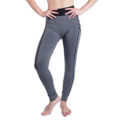 garderobe goa JERFER Frauen Gym Mode Yoga Patchwork Sport Fitness Leggings Hosen laufen