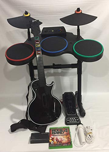 XBOX ONE Rock Band 4 Guitar Hero Band-in-a-Box Special Bundle (Band Xbox Drums Rock)