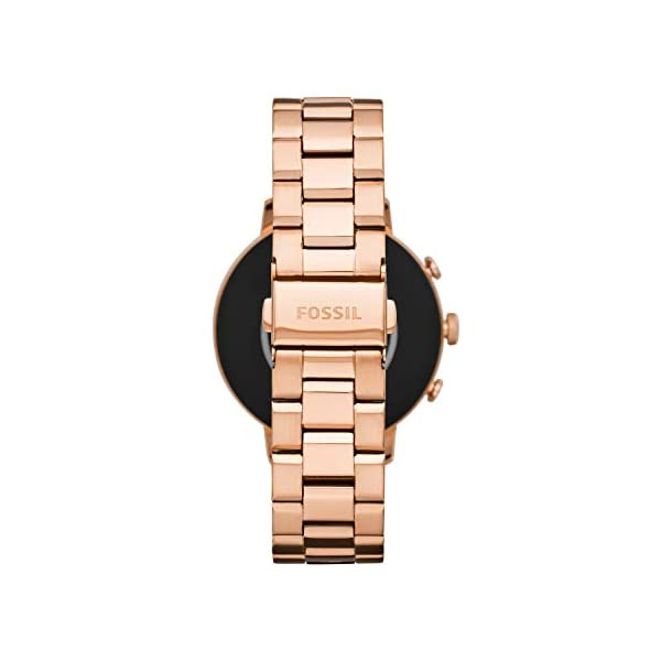 Fossil Connected Smartwatch Gen 4 para Mujer con tecnología Wear OS de Google, frecuencia cardíaca, GPS, NFC y… 4