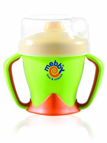 Beccuccio in Silicone Mebby 92608 Easy Cup Tazza Antigoccia Verde 6+ Mesi