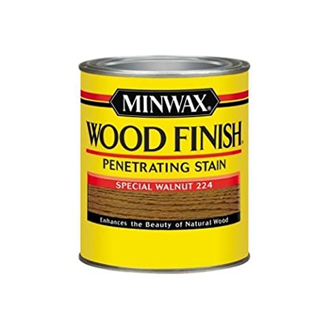 Minwax 1 Quart sp-cial Noyer Finition int-rieure en bois Wood Stain 70006