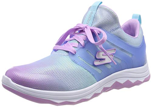 Skechers Mädchen Diamond Runner Sneaker, Mehrfarbig (Lavender Multi Lvmt), 30 EU -